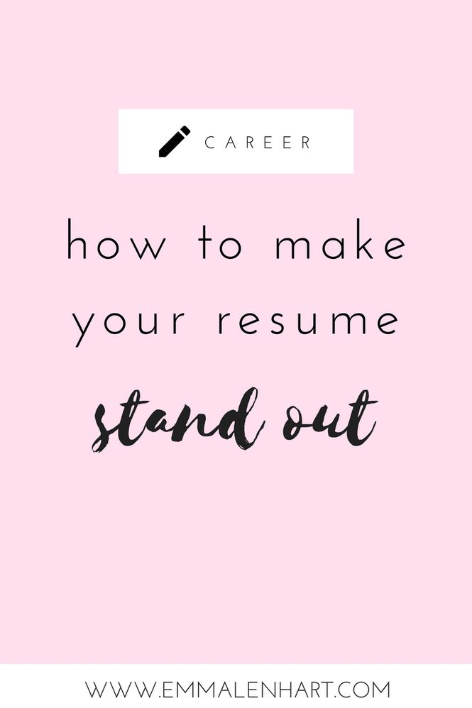 Job hunting resume tips