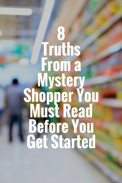 career infographic 8 truths from a mystery shopper you must read before you get started best. Black Bedroom Furniture Sets. Home Design Ideas
