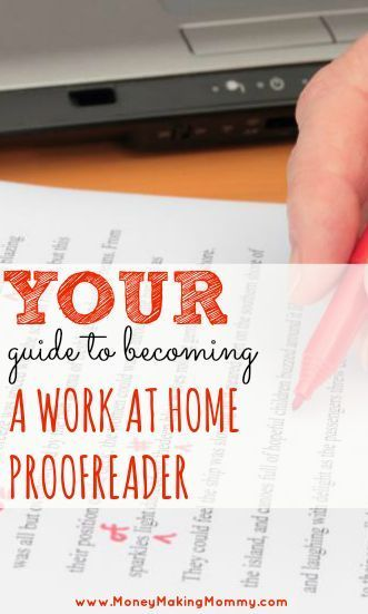 Proofreading jobs from home ireland