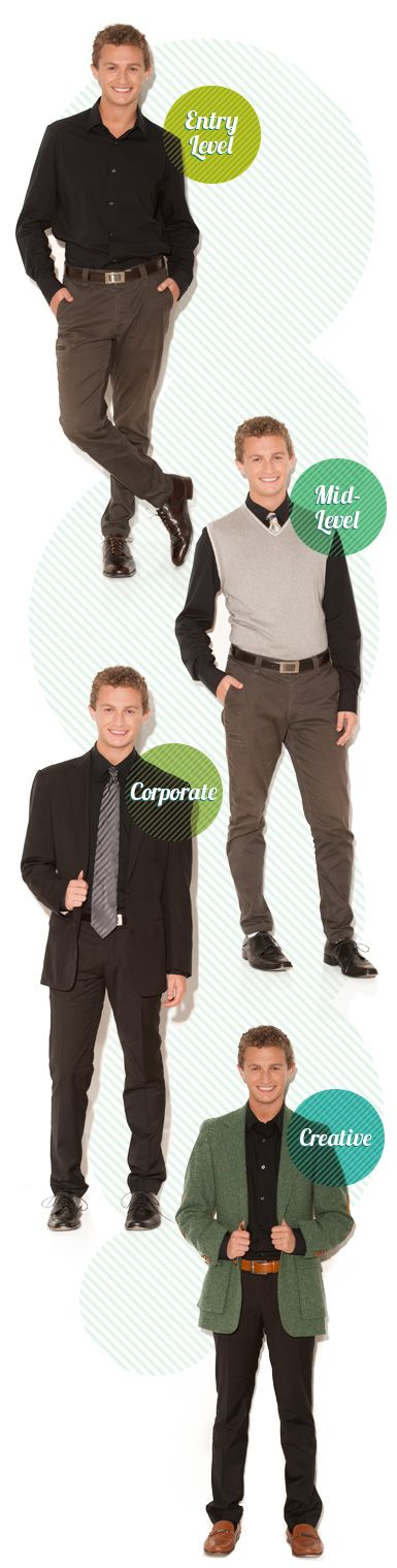 Infographic Creative Careers Job Ready Dress
