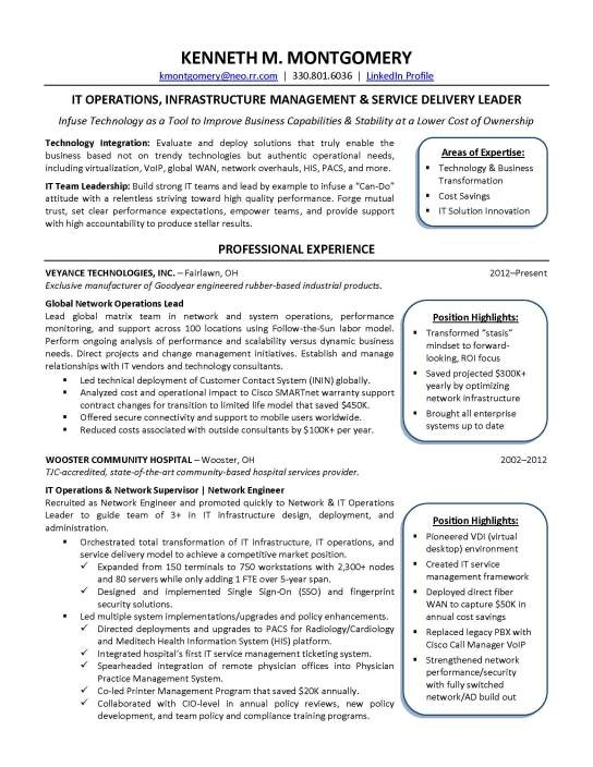resume cio resume makeover it jobloving