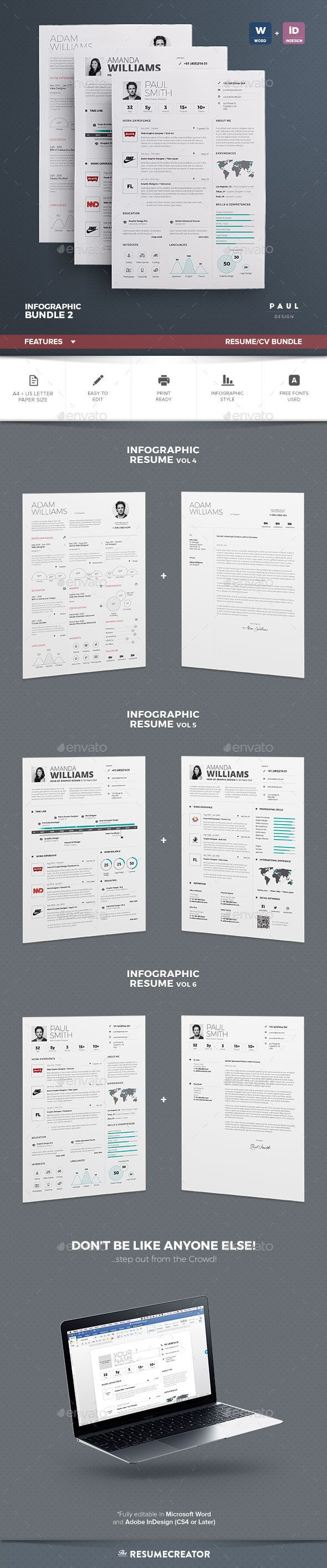 Infographic Resume Templates  Word  SoftwaremonsterInfo