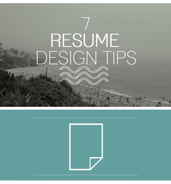 resume resume tip tuesday 7 resume design tips from