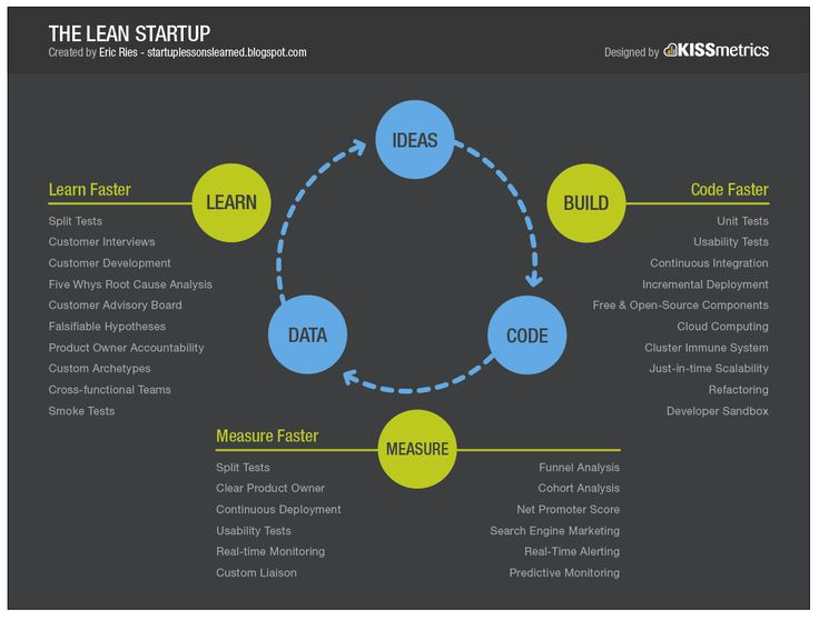 Startup infographic : The Lean Startup | Visual.ly