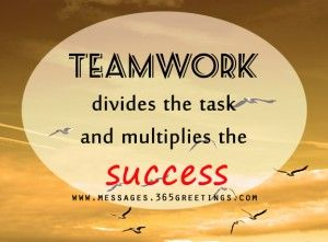 Teamwork quote : Teamwork Quotes and Sayings