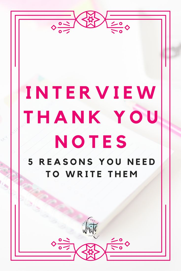 writing a thank you after an interview Interview thank you note samples: dozens of examples of exactly what to write after your job interview.