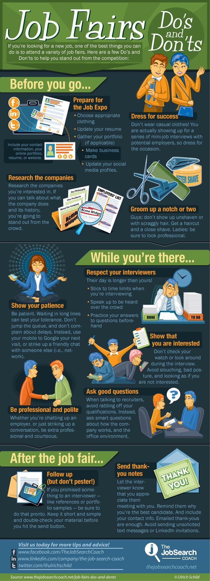 infographic the fair expo dos and donts if you