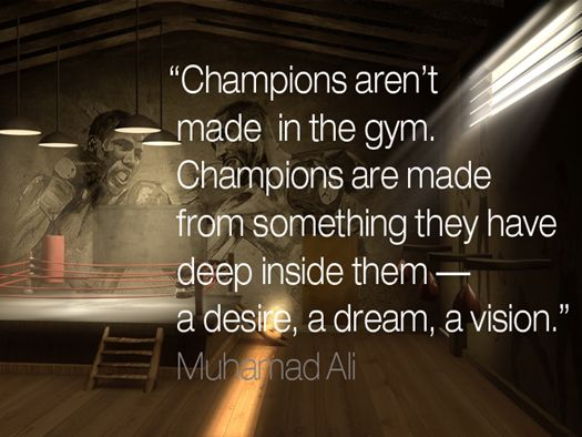 Leadership quote : 12 Inspirational Sports Quotes for Business Leaders: