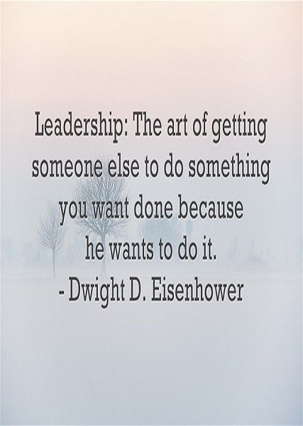 Leadership quote : My Favorite Quotes