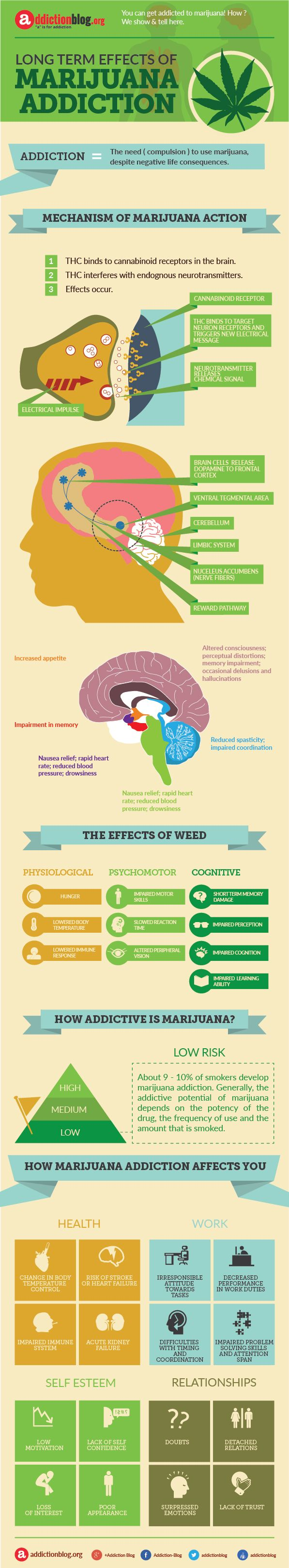 what are the long term effects of weed