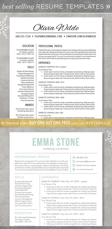 free creative resume templates word - resume resume template cv template for word creative