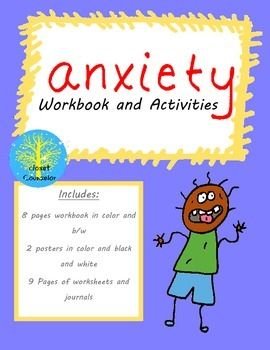 Stress management : Anxiety Workbook and Activities