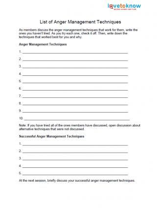 Free Anger Worksheets Jobloving Your Number One Source For