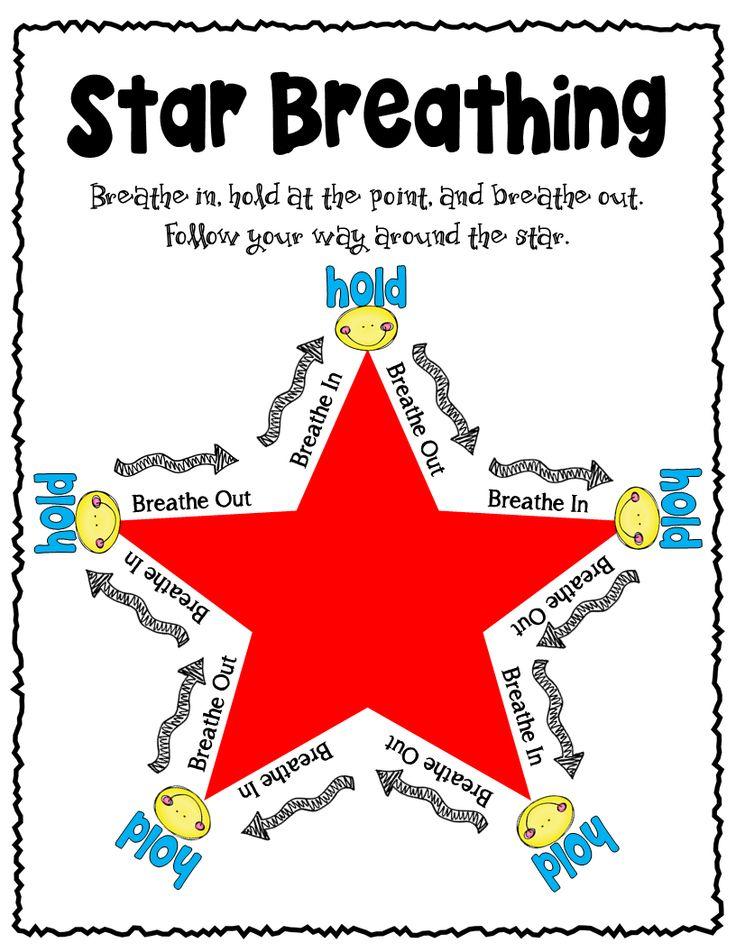 Clean image regarding star breathing printable