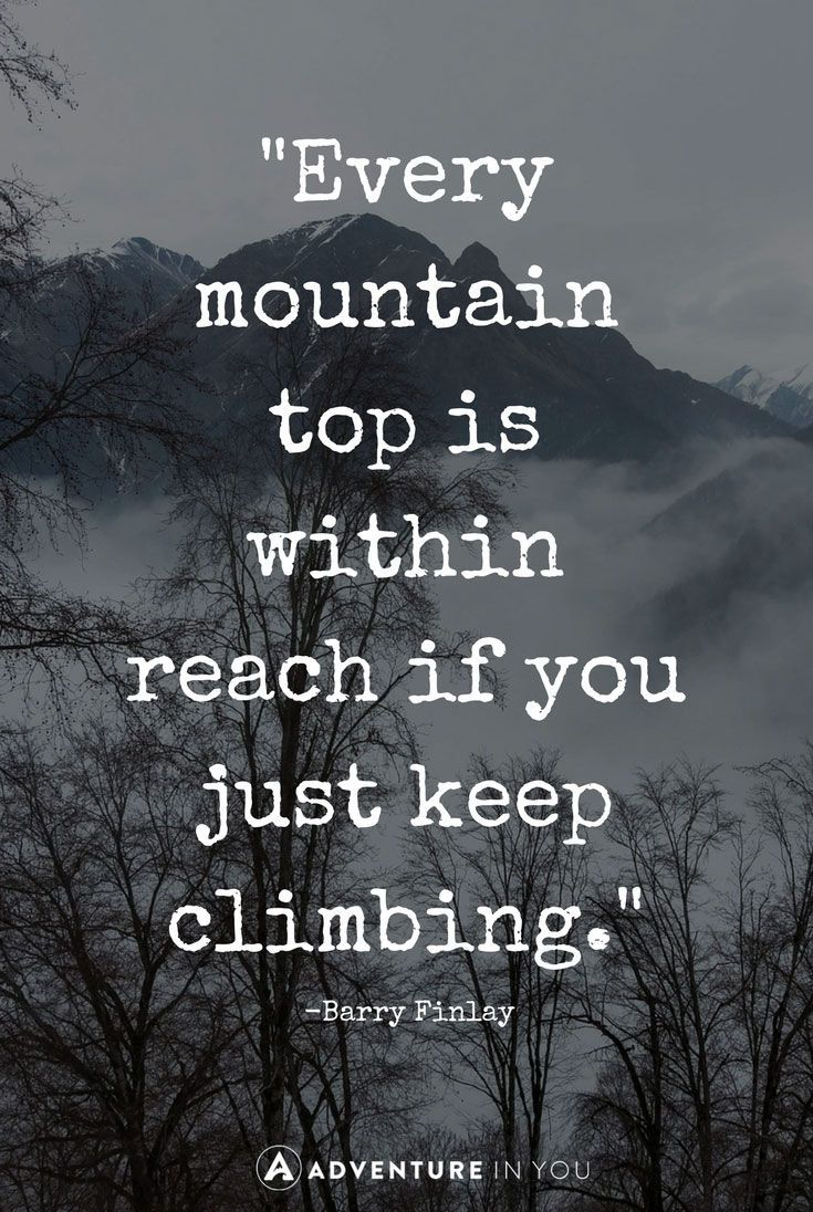 Success Quote : Mountain Quotes   Looking for some inspiration? Check out this mountain quotes a…