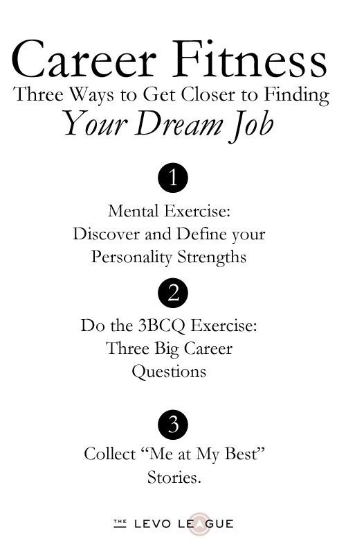 A simple guide to getting your dream job