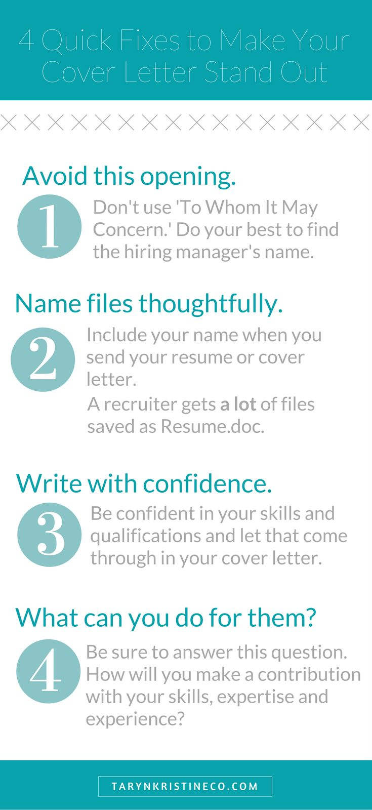 Writing a Cover Letter that Stands Out