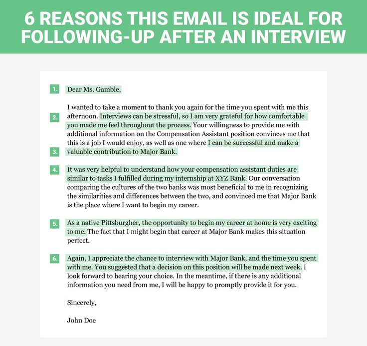 A Simple Thank You Letter Can Go A Long Way When Applying For Your