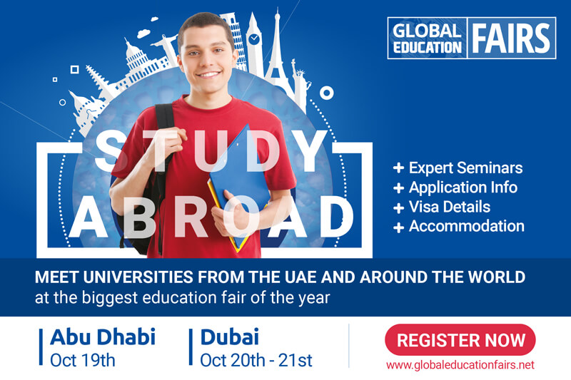 World Renowned Education Fair coming soon to UAE
