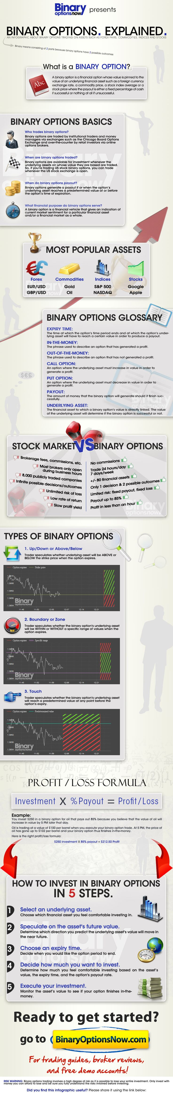 binary options infographic resumes